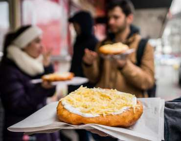 Langos for Breakfast, Lunch or Supper @ Budapest4
